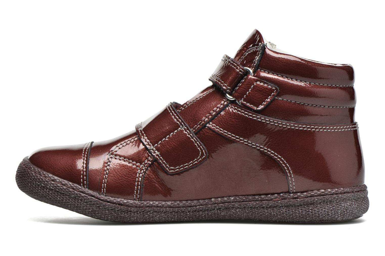 Velcro shoes Primigi Anne-E Burgundy front view