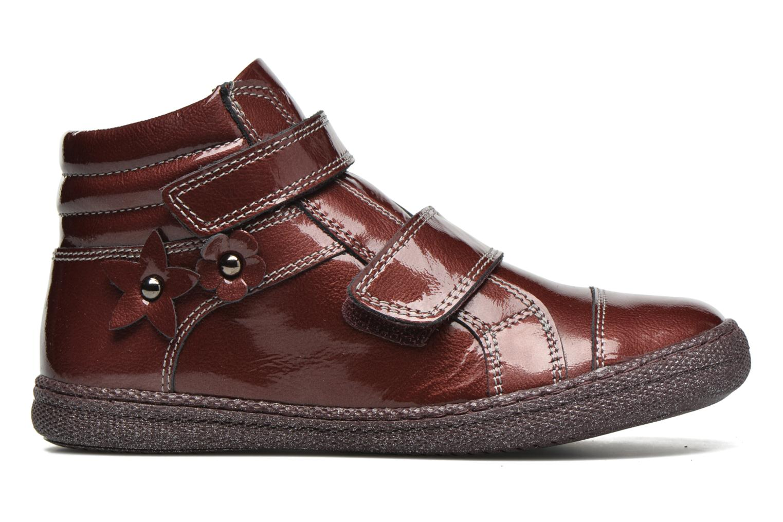 Velcro shoes Primigi Anne-E Burgundy back view