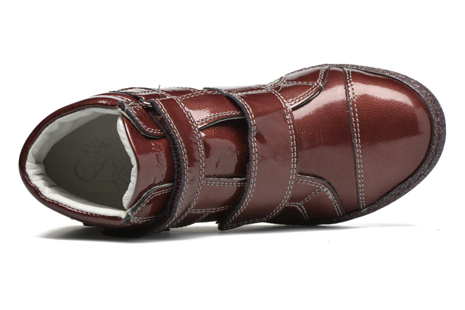 Velcro shoes Primigi Anne-E Burgundy view from the left