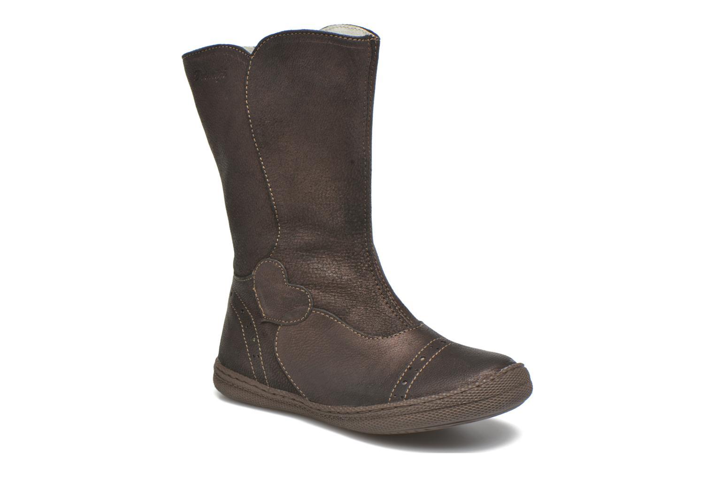 Støvler & gummistøvler Primigi Britte-E Brun detaljeret billede af skoene