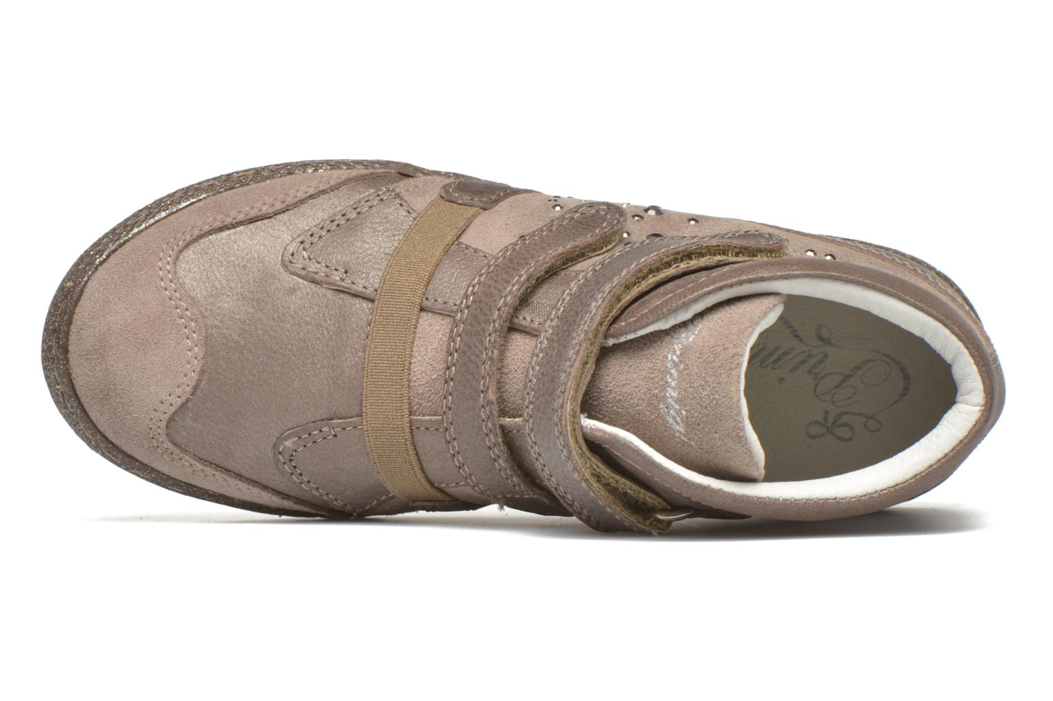 Velcro shoes Primigi Hulda 2-E Beige view from the left