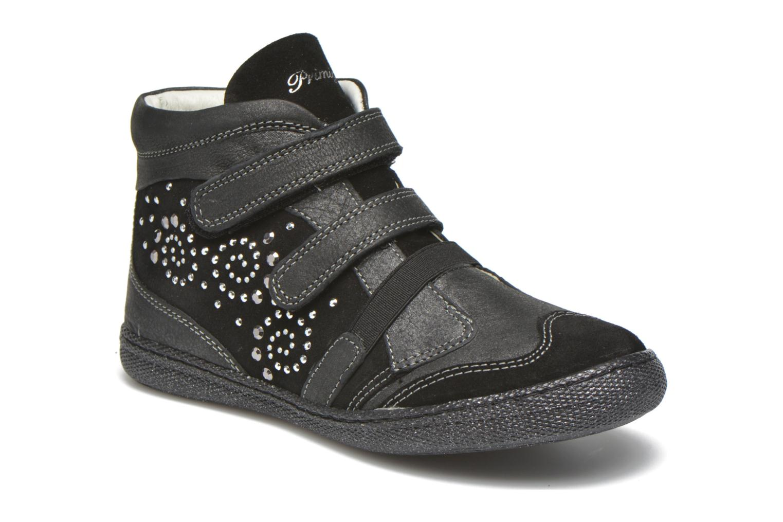 Chaussures à scratch Primigi Hulda 2-E Noir vue détail/paire