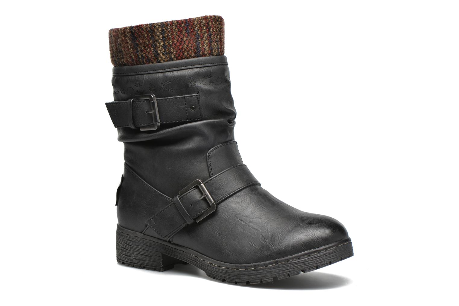 Ankle boots Coolway Babel Black detailed view/ Pair view