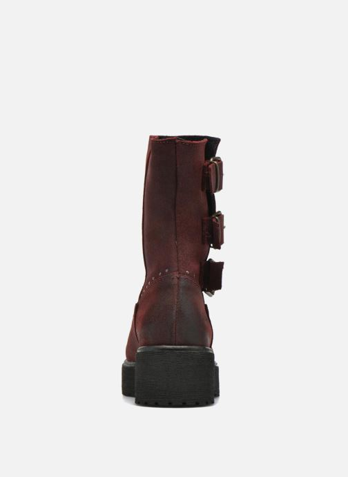 Ankle boots Coolway Baboon Red view from the right