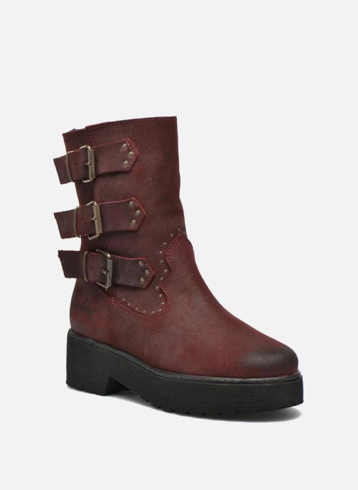 Ankle boots Coolway Baboon Red detailed view/ Pair view