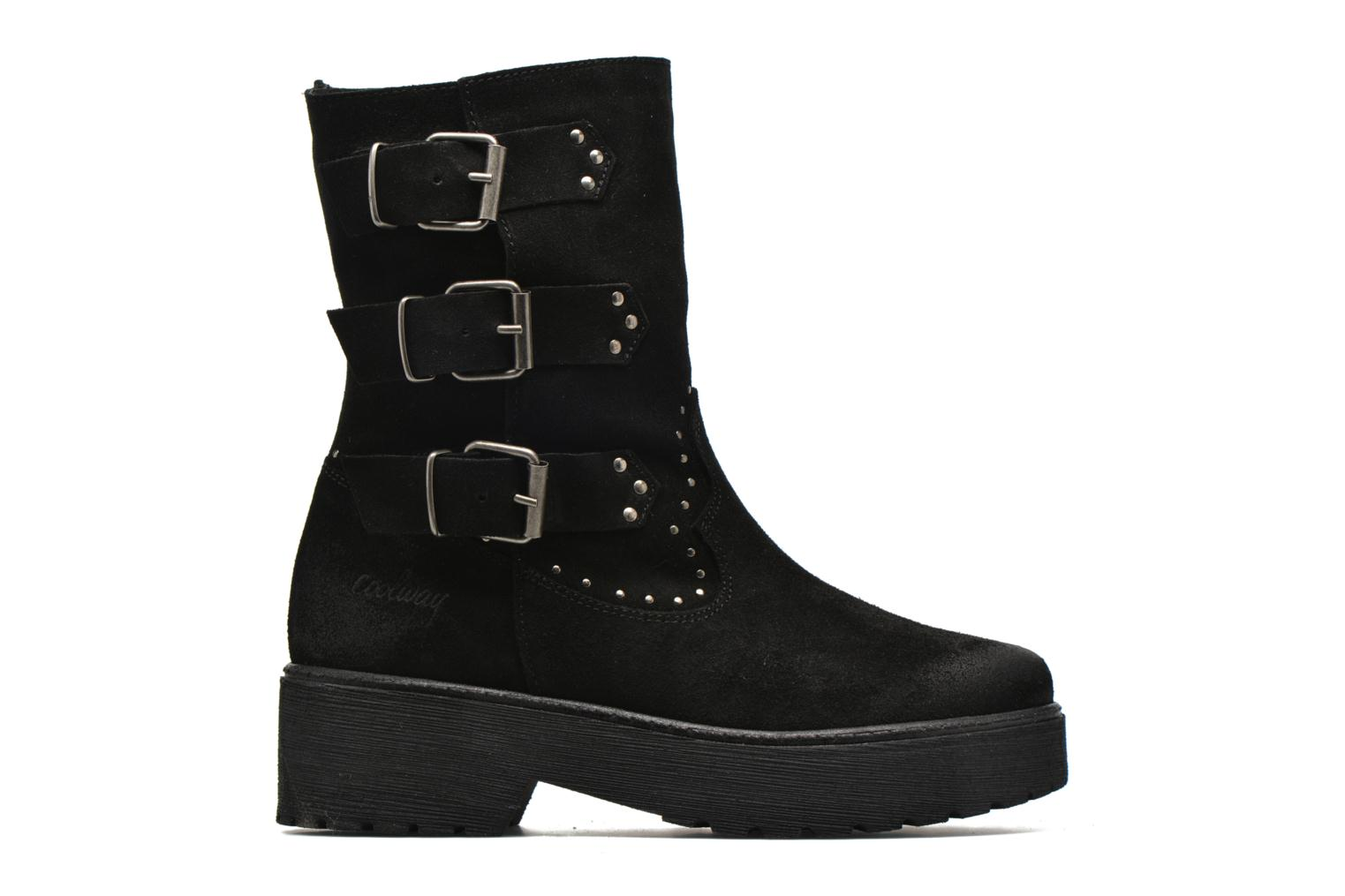 Ankle boots Coolway Baboon Black back view
