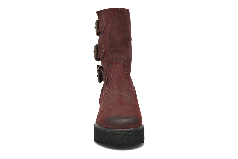 Bottines et boots Coolway Baboon Rouge vue portées chaussures