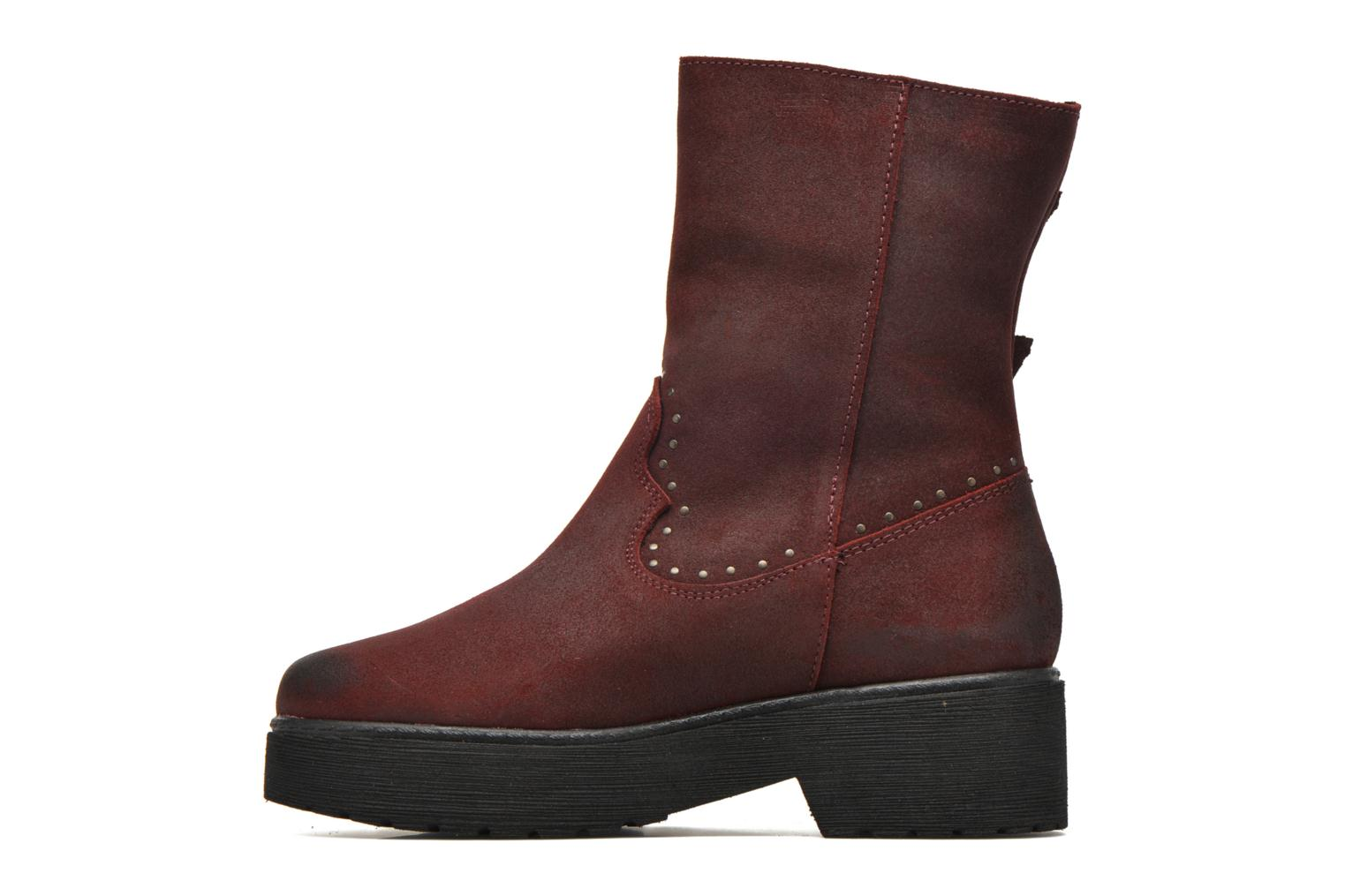 Bottines et boots Coolway Baboon Rouge vue face