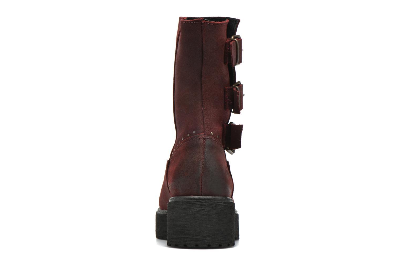Bottines et boots Coolway Baboon Rouge vue droite