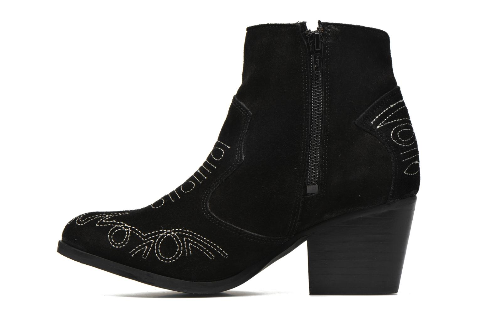Bottines et boots Coolway Bala Noir vue face