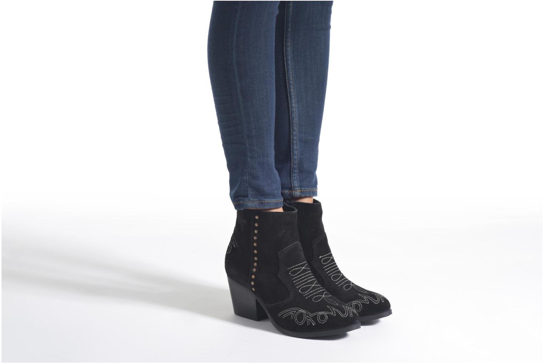 Bottines et boots Coolway Bala Vert vue bas / vue portée sac