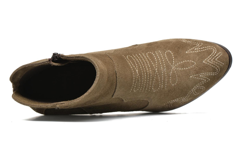 Bottines et boots Coolway Bala Vert vue gauche