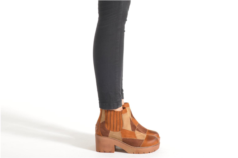 Bottines et boots Coolway Barek Marron vue bas / vue portée sac