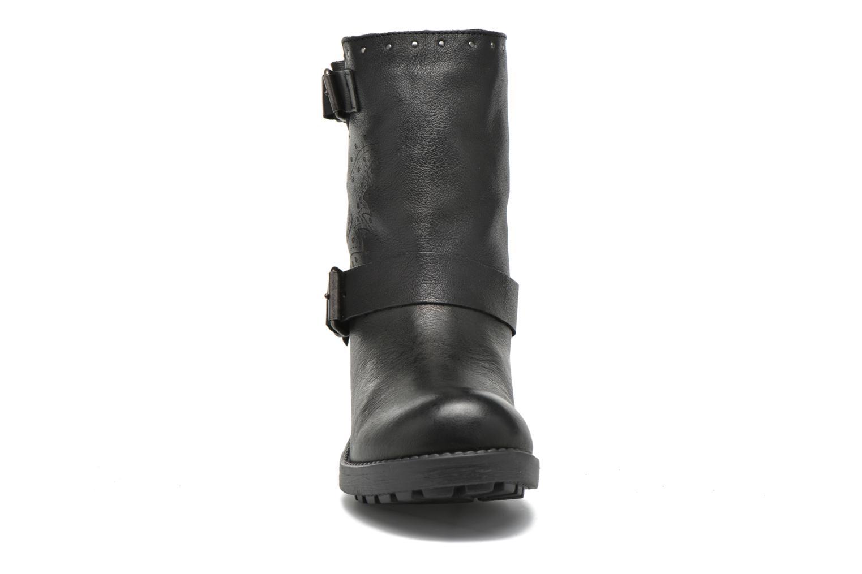 Bottines et boots Coolway Barlow Noir vue portées chaussures