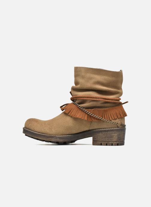 Bottines et boots Coolway Belia Marron vue face