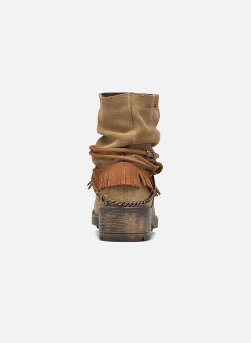 Ankle boots Coolway Belia Brown view from the right