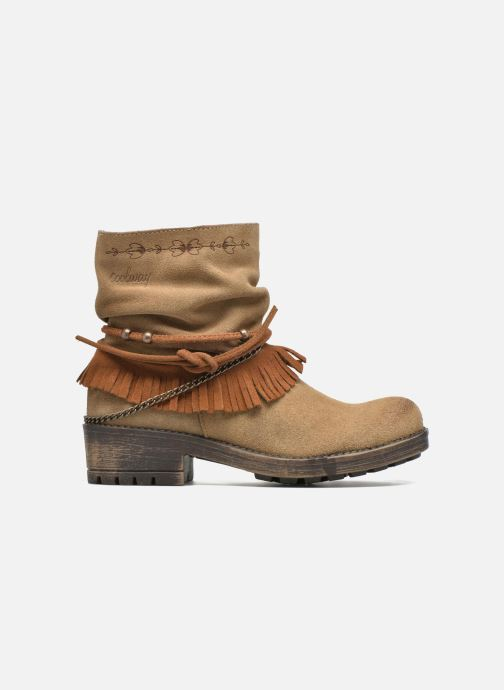 Ankle boots Coolway Belia Brown back view
