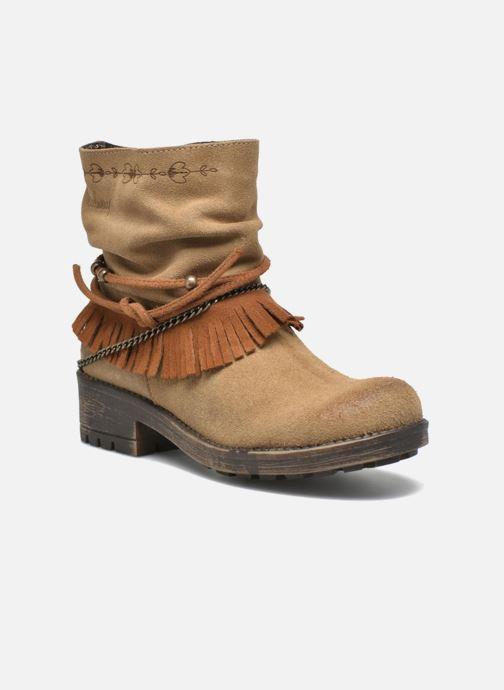 Ankelstøvler Coolway Belia Brun detaljeret billede af skoene