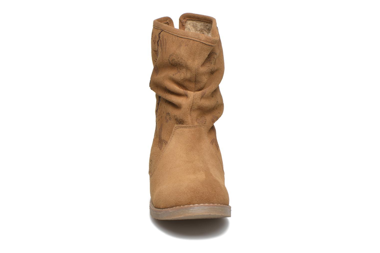 Boots en enkellaarsjes Coolway Betina Bruin model