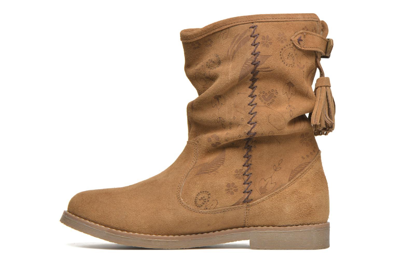 Boots en enkellaarsjes Coolway Betina Bruin voorkant