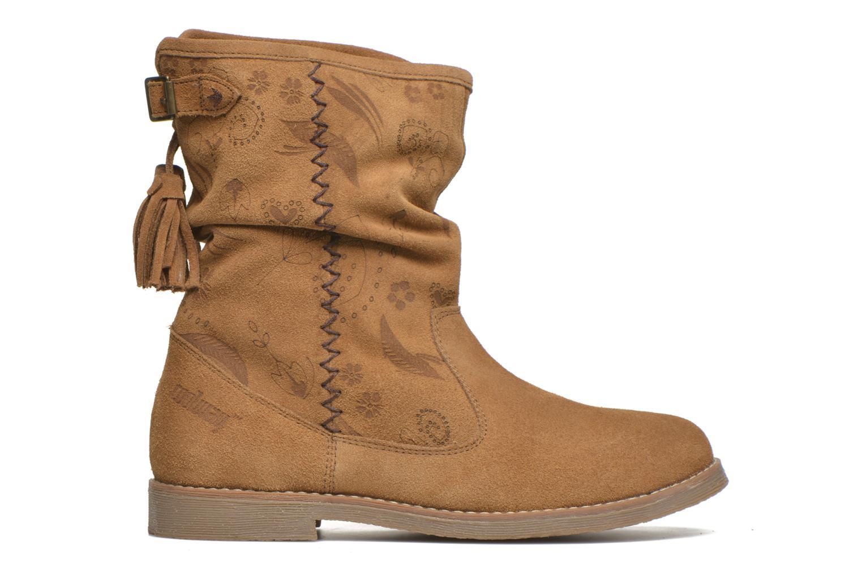 Boots en enkellaarsjes Coolway Betina Bruin achterkant