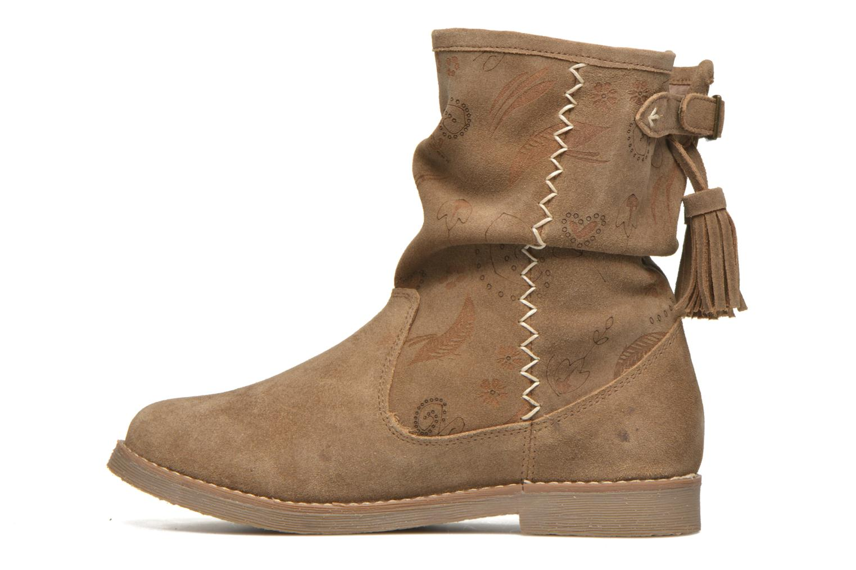 Bottines et boots Coolway Betina Marron vue face