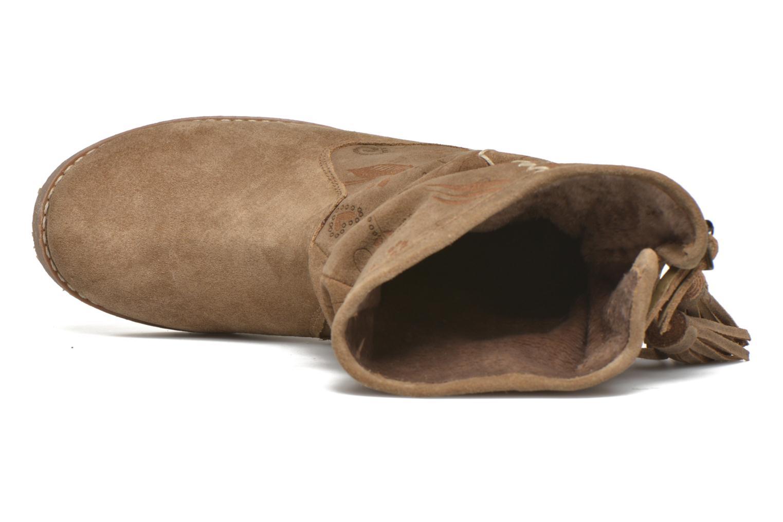 Bottines et boots Coolway Betina Marron vue gauche