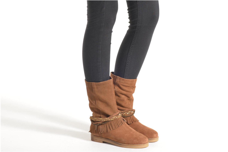Bottines et boots Coolway Biara Marron vue bas / vue portée sac