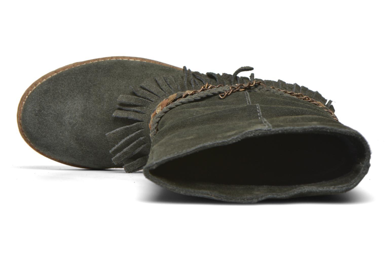 Bottines et boots Coolway Biara Vert vue gauche