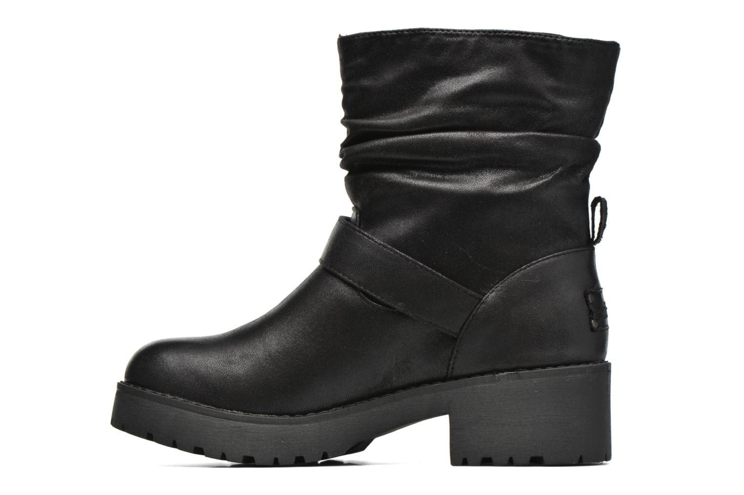 Ankle boots Coolway Biker Black front view