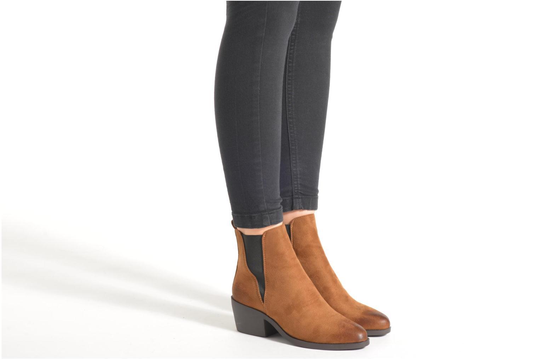 Bottines et boots Coolway Bowen Marron vue bas / vue portée sac