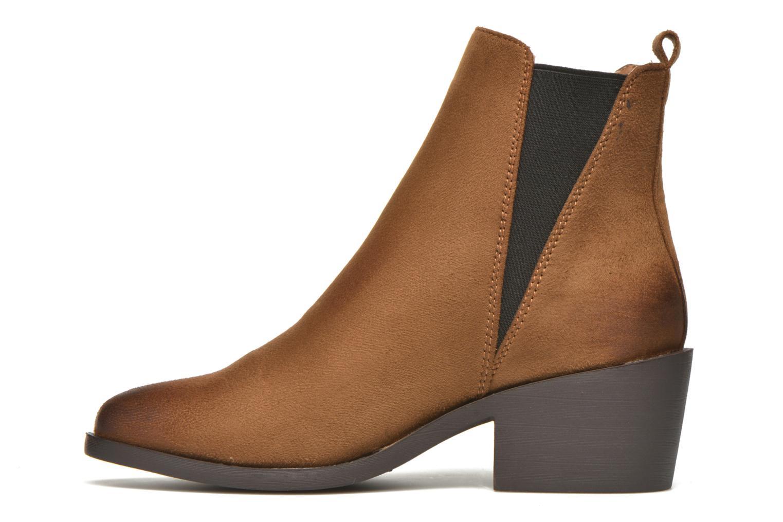 Bottines et boots Coolway Bowen Marron vue face
