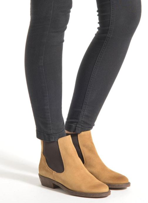 Ankle boots Coolway Bradley Beige view from underneath / model view
