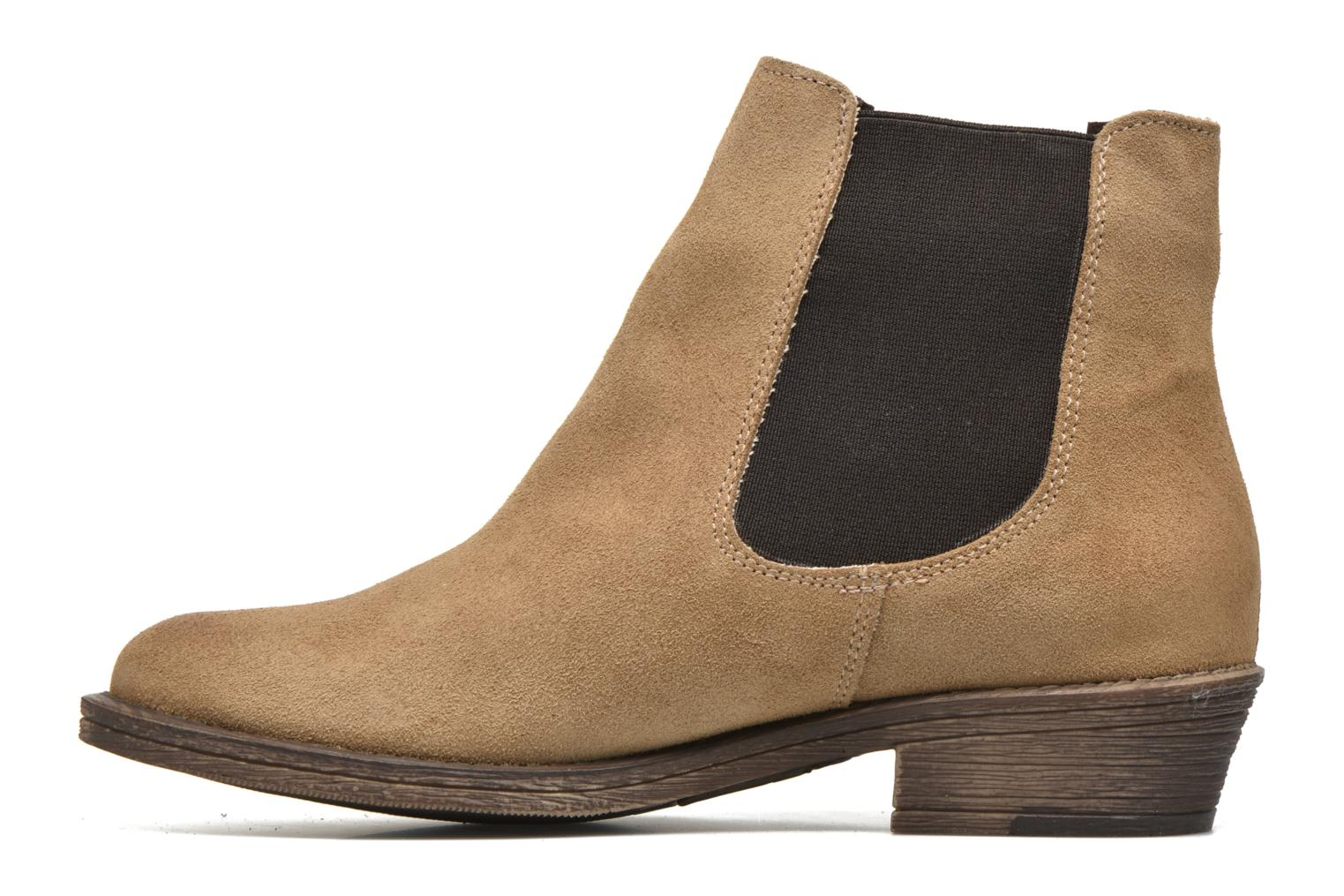 Bottines et boots Coolway Bradley Beige vue face