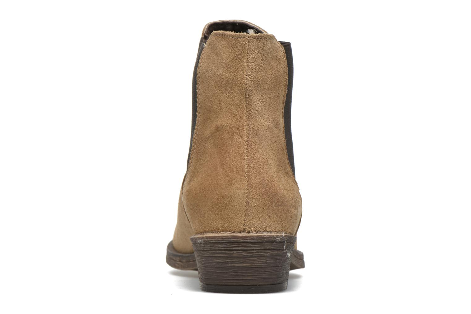 Ankle boots Coolway Bradley Beige view from the right