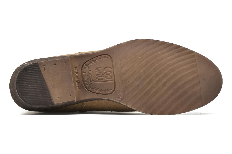 Stiefeletten & Boots Coolway Bradley beige ansicht von oben
