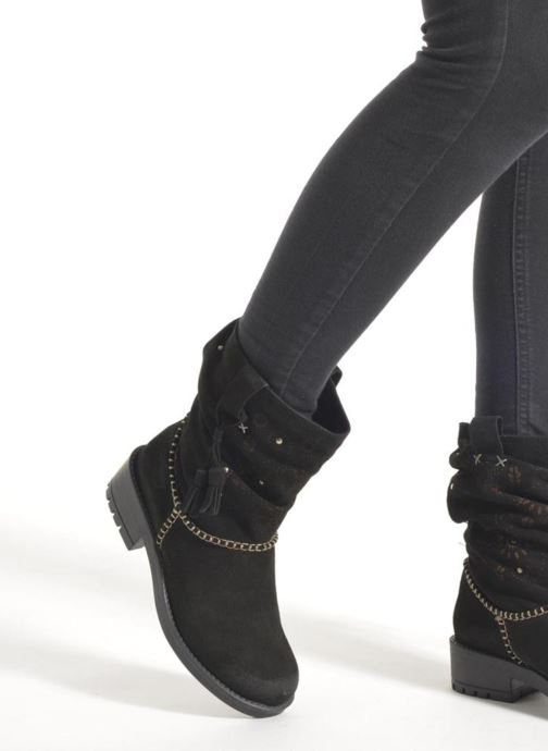 Ankle boots Coolway Brisi Brown view from underneath / model view