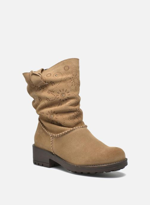 Ankle boots Coolway Brisi Brown detailed view/ Pair view