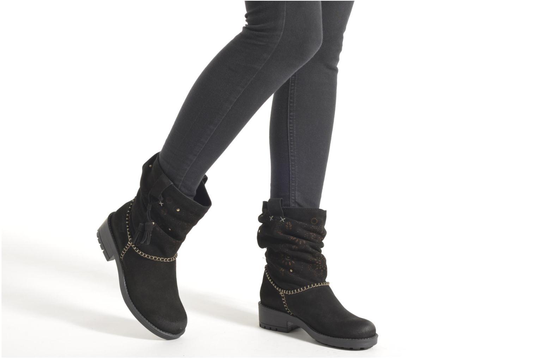 Boots en enkellaarsjes Coolway Brisi Zwart onder