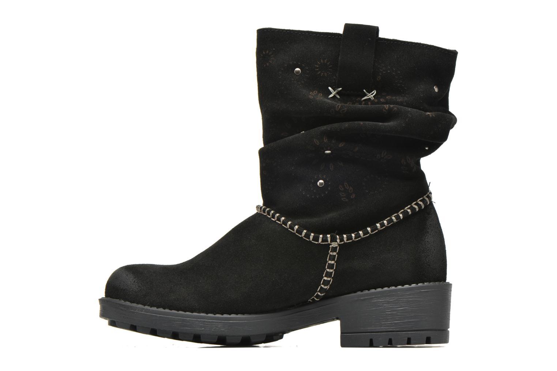Boots en enkellaarsjes Coolway Brisi Zwart voorkant