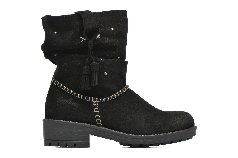 Boots en enkellaarsjes Coolway Brisi Zwart achterkant
