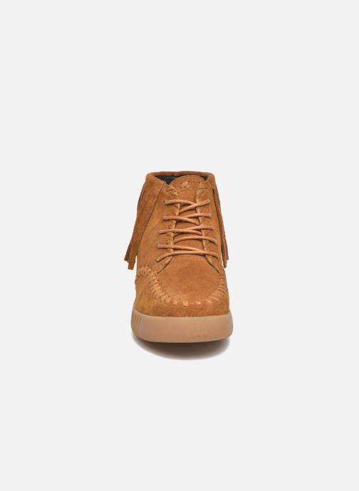 Zapatos con cordones Coolway Buzo Marrón vista del modelo