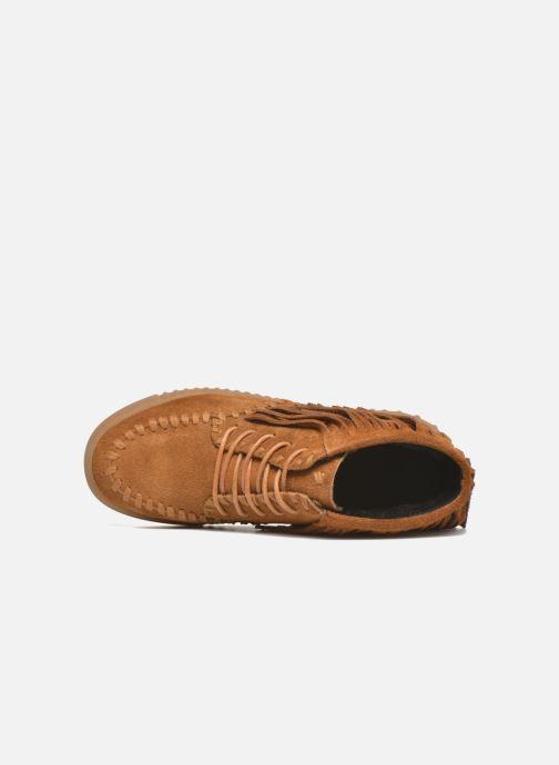 Zapatos con cordones Coolway Buzo Marrón vista lateral izquierda