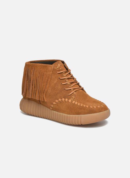 Zapatos con cordones Coolway Buzo Marrón vista de detalle / par