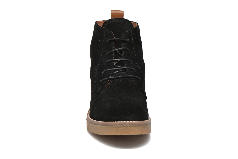 Bottines et boots Georgia Rose Lucrepe Noir vue portées chaussures
