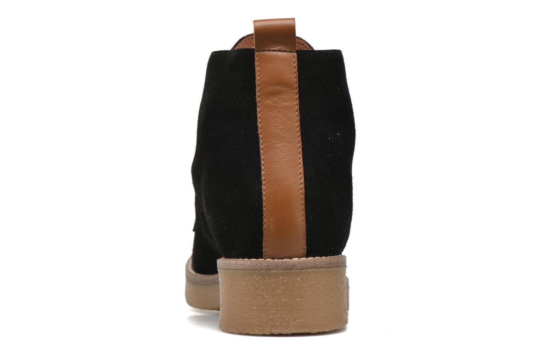 Bottines et boots Georgia Rose Lucrepe Noir vue droite