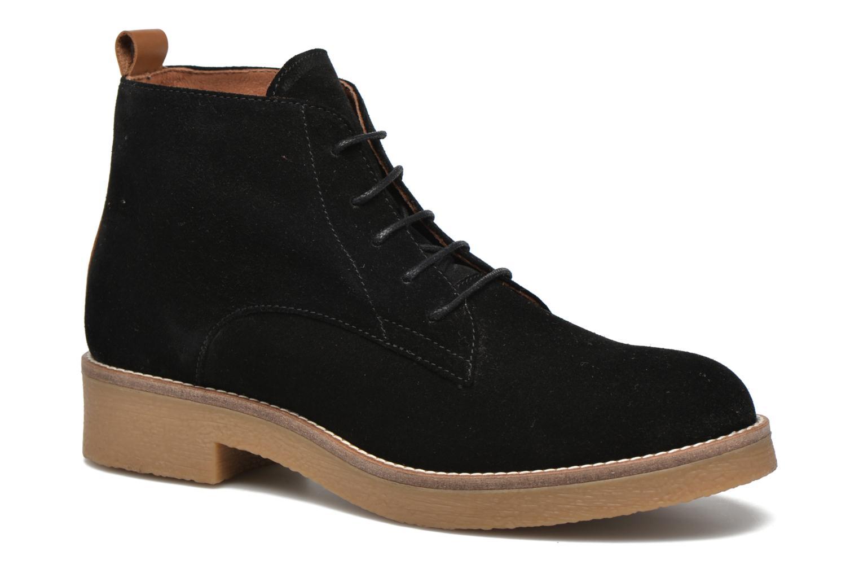 Bottines et boots Georgia Rose Lucrepe Noir vue détail/paire