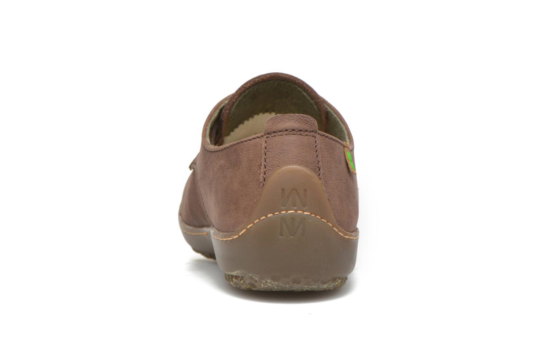 Chaussures à lacets El Naturalista Bee ND89 Marron vue droite