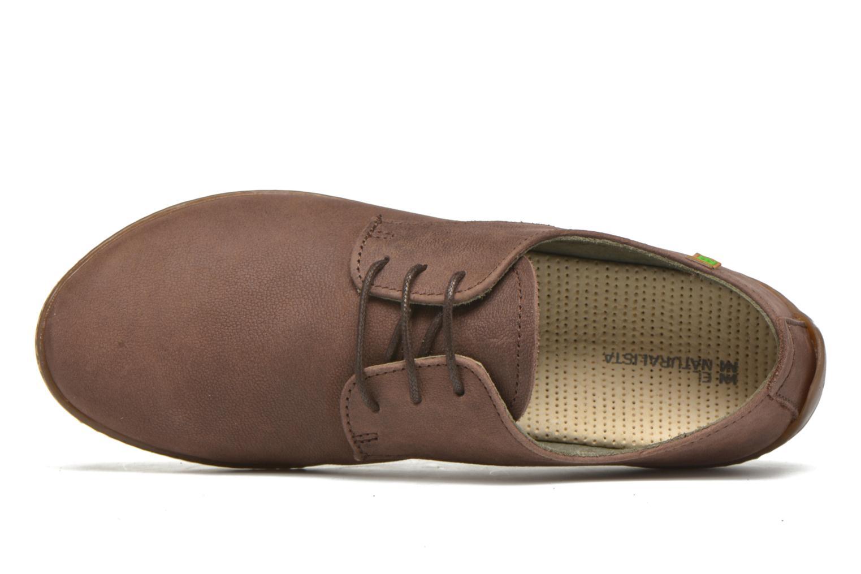 Chaussures à lacets El Naturalista Bee ND89 Marron vue gauche