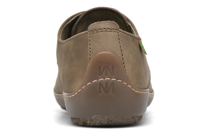 Chaussures à lacets El Naturalista Bee ND89 Vert vue droite